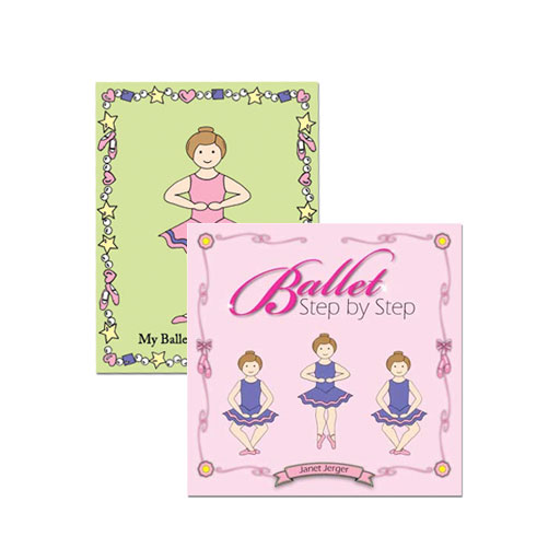 ballet step by step plus my ballet coloring book - Coloring Books For Toddlers