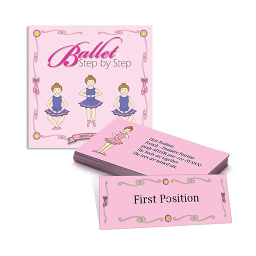 Ballet Step by Step plus My Ballet Coloring Book