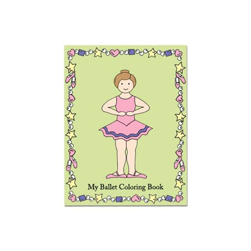 My Ballet Coloring Book