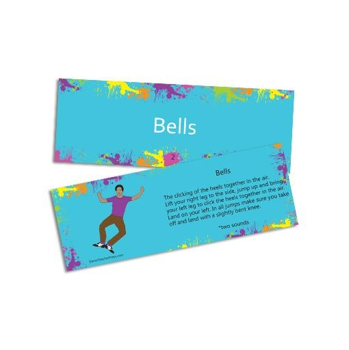 Tap Dance Bells Flash Card