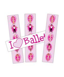 I love Ballet Bookmark