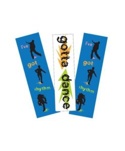 Tap Dance Bookmark