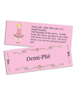 Demi Plie Flash Card