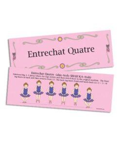 Entrechat Quatre Flash Card