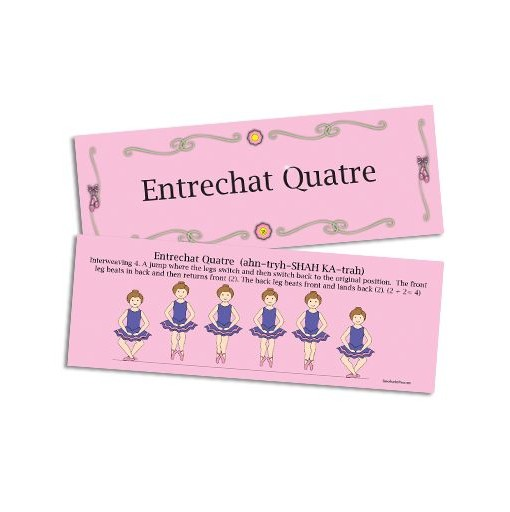 Entrechat Quatre Flash Card