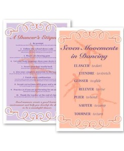 Ballet and Tap Dance Studio Posters