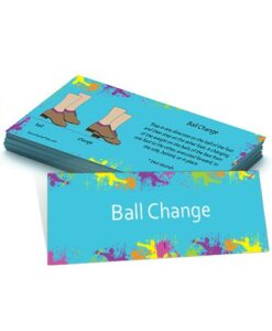 Tap Dance Flash Card - Ball Change