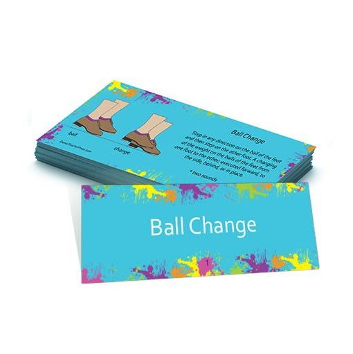 Tap Dance Flash Card – Ball Change
