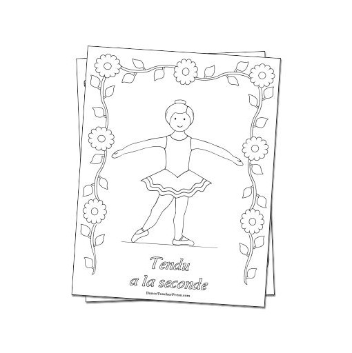 Tendu in Ballet